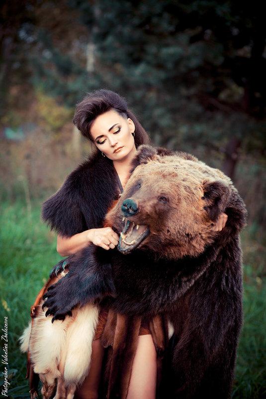 Охота на медведя - valentina