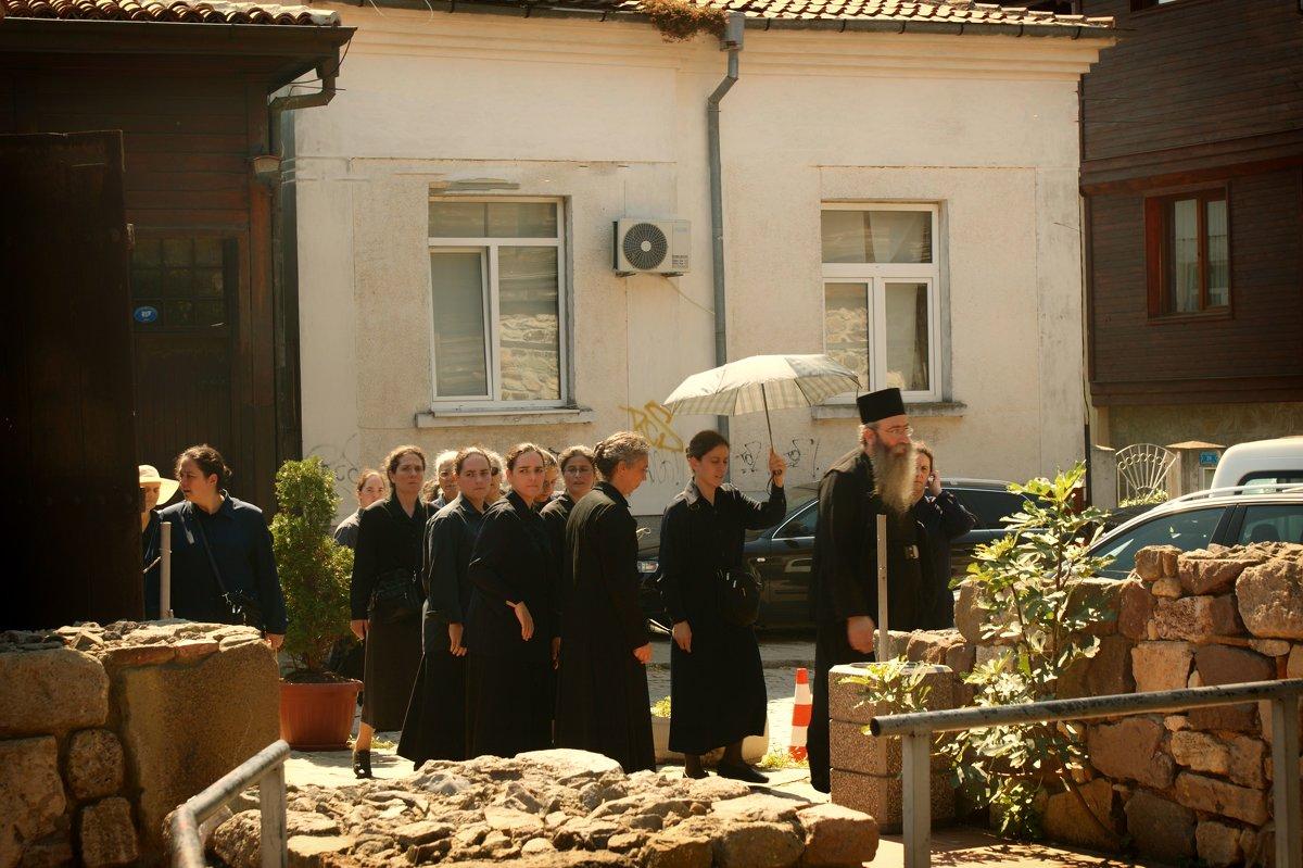 Паломническая процессия в г. Созополь - Екатерррина Полунина
