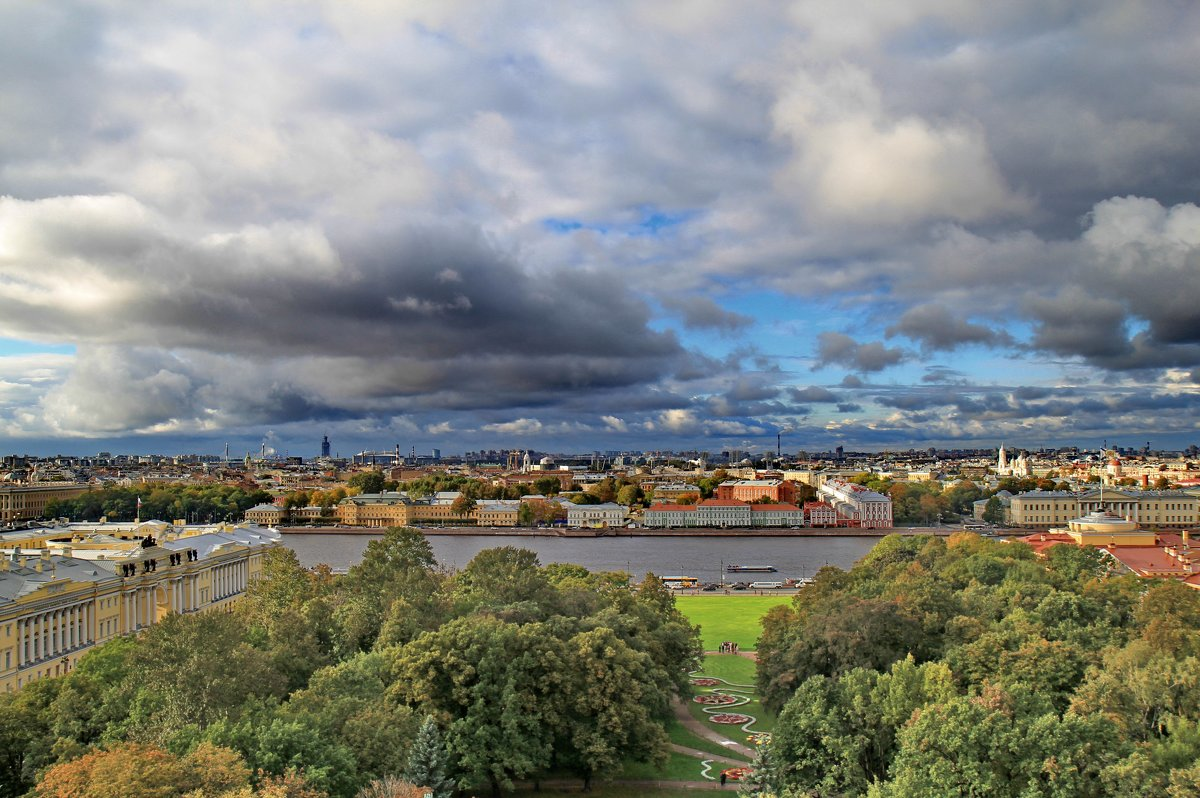 Городской пейзаж - Сергей