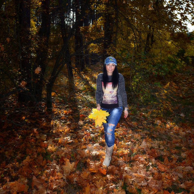 осень в лесу - Василий Алехин
