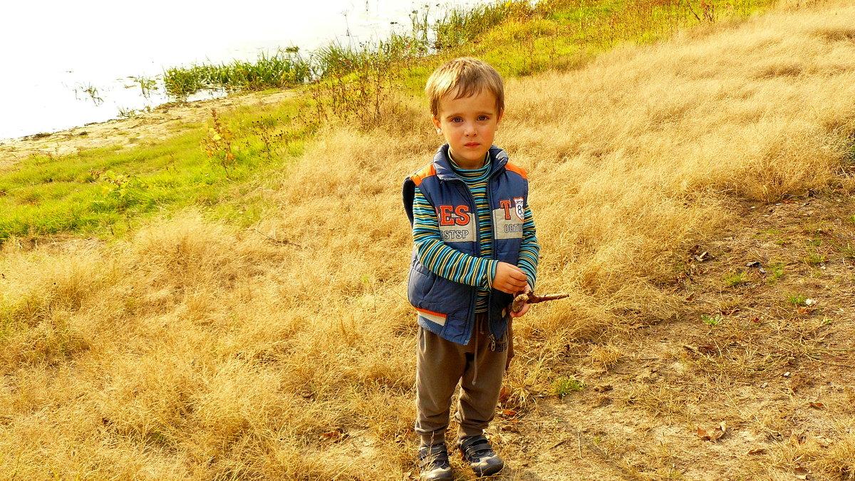 последний теплый выходной осени на природе - Александр Прокудин