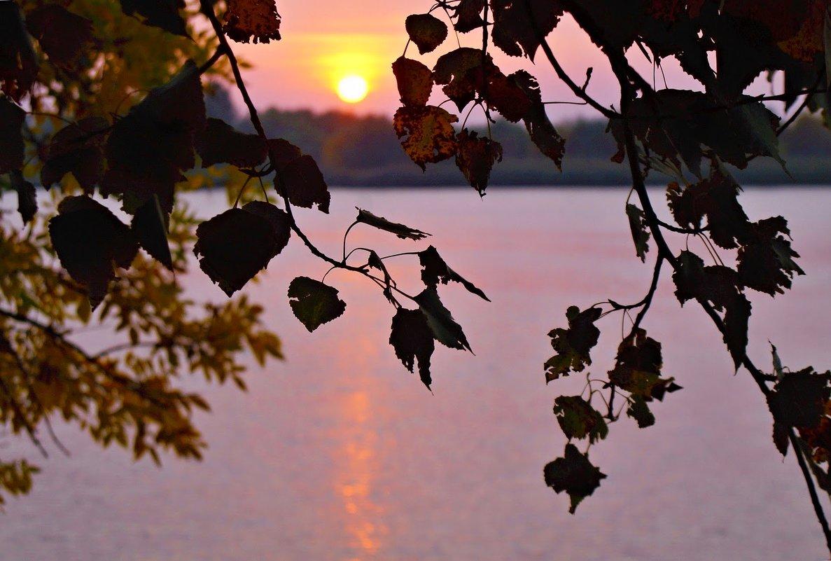 Осенний рассвет. - владимир