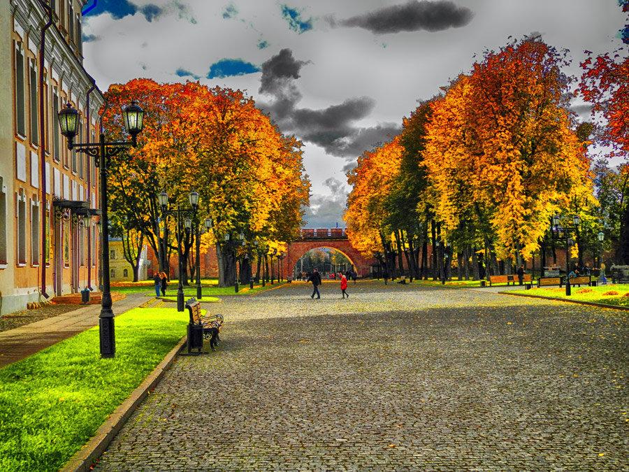 Оранжевая осень - Павел