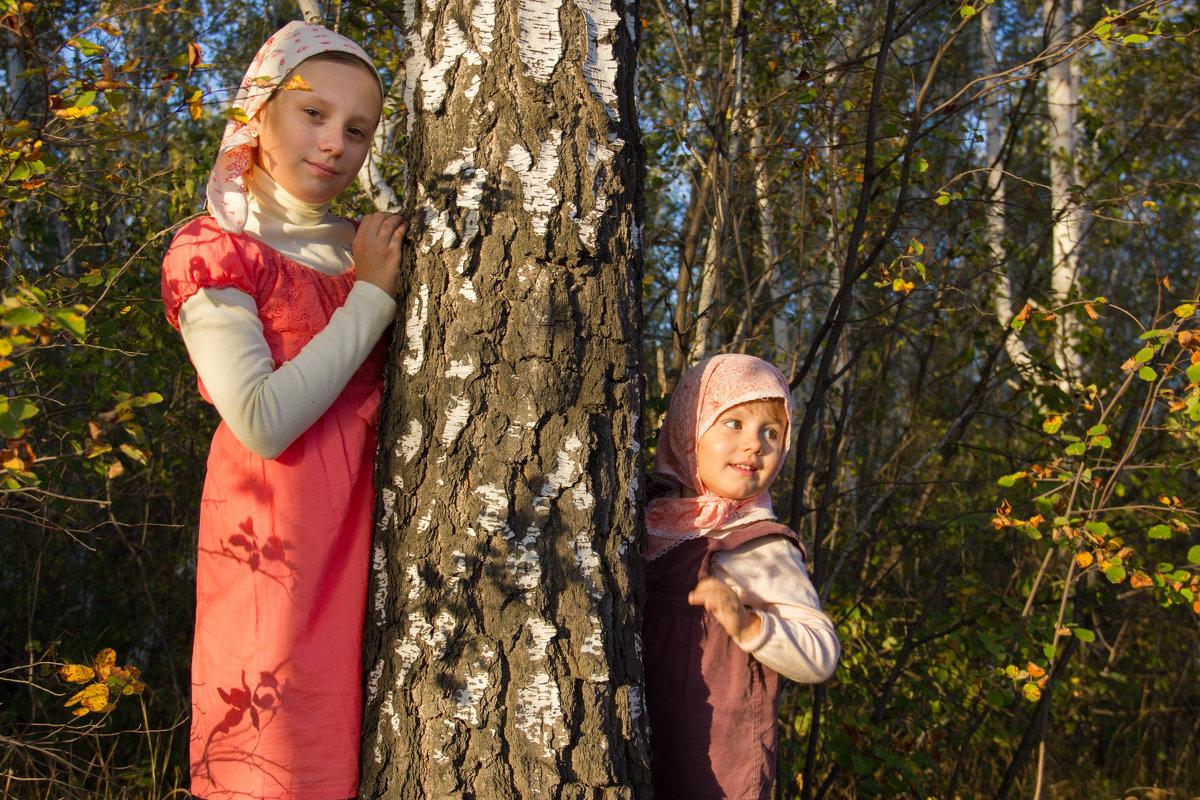 В лесу - Наталья