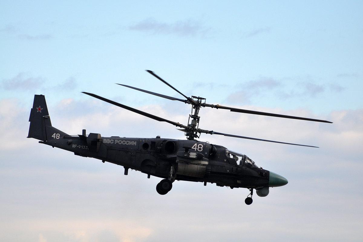 """КА-52 """"Аллигатор"""" - Илья Кочанов"""