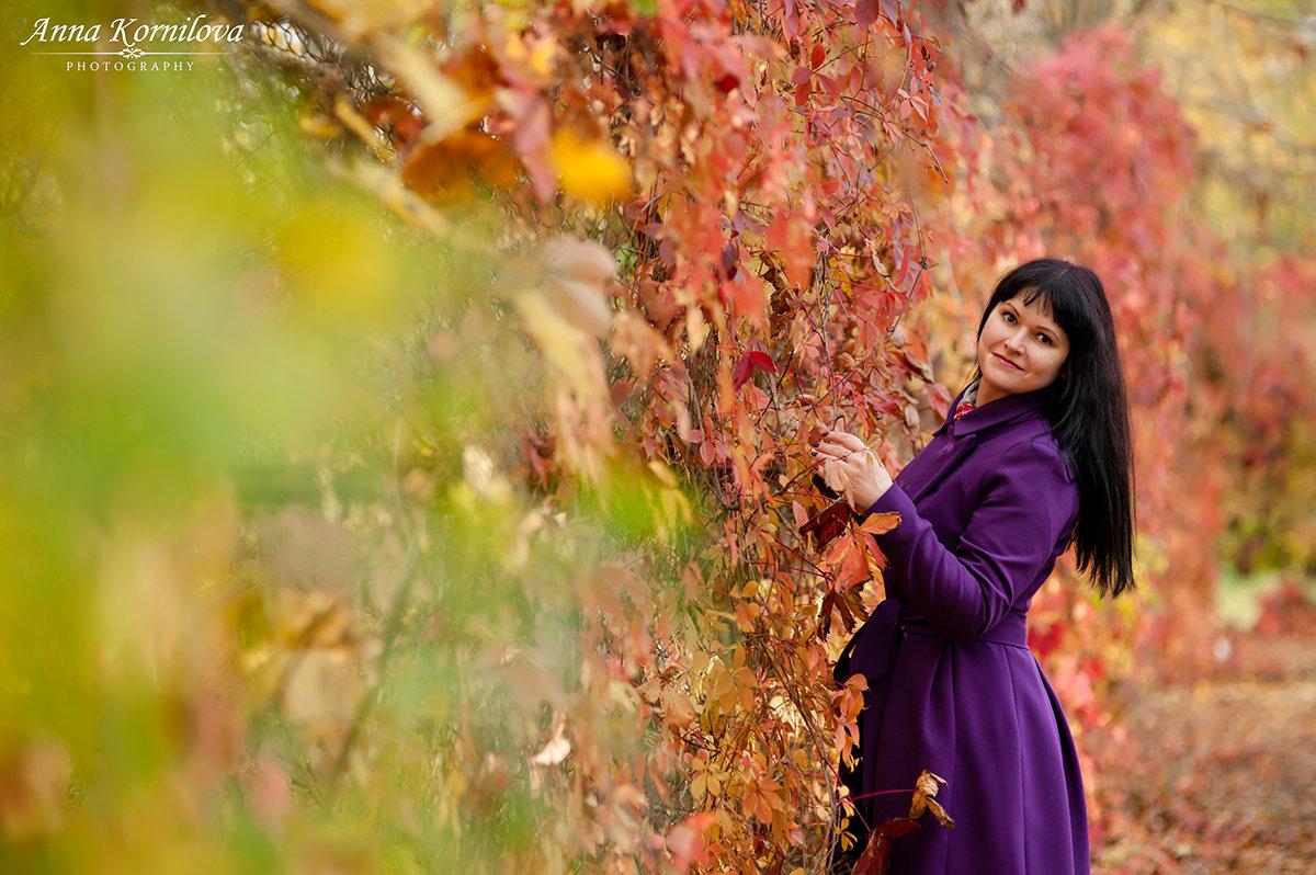 Багряная осень - Анна