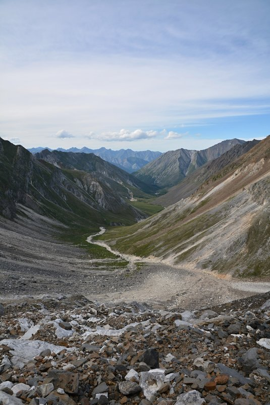 Вид на долину Зун-Гола - Александр Шацких