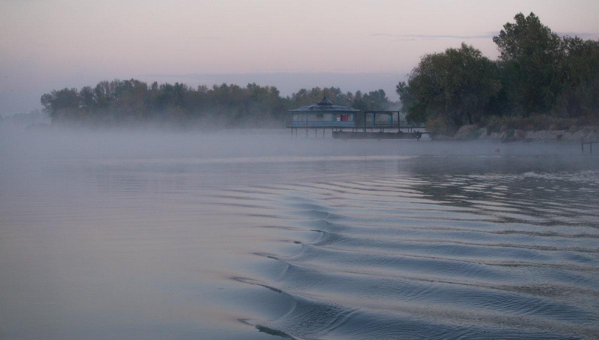 Туман на реке. - Надежда Парфенова