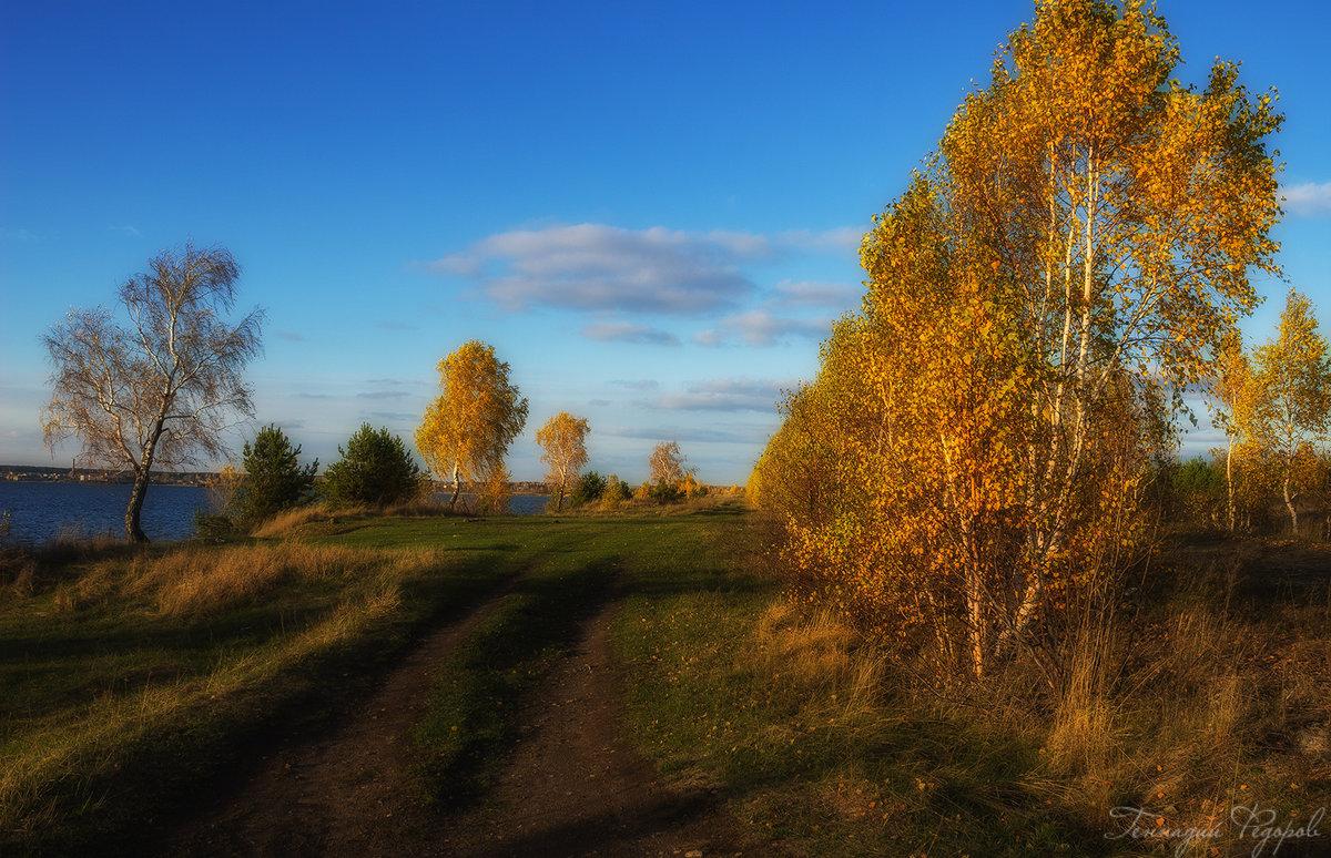 вдоль озера - Геннадий Федоров
