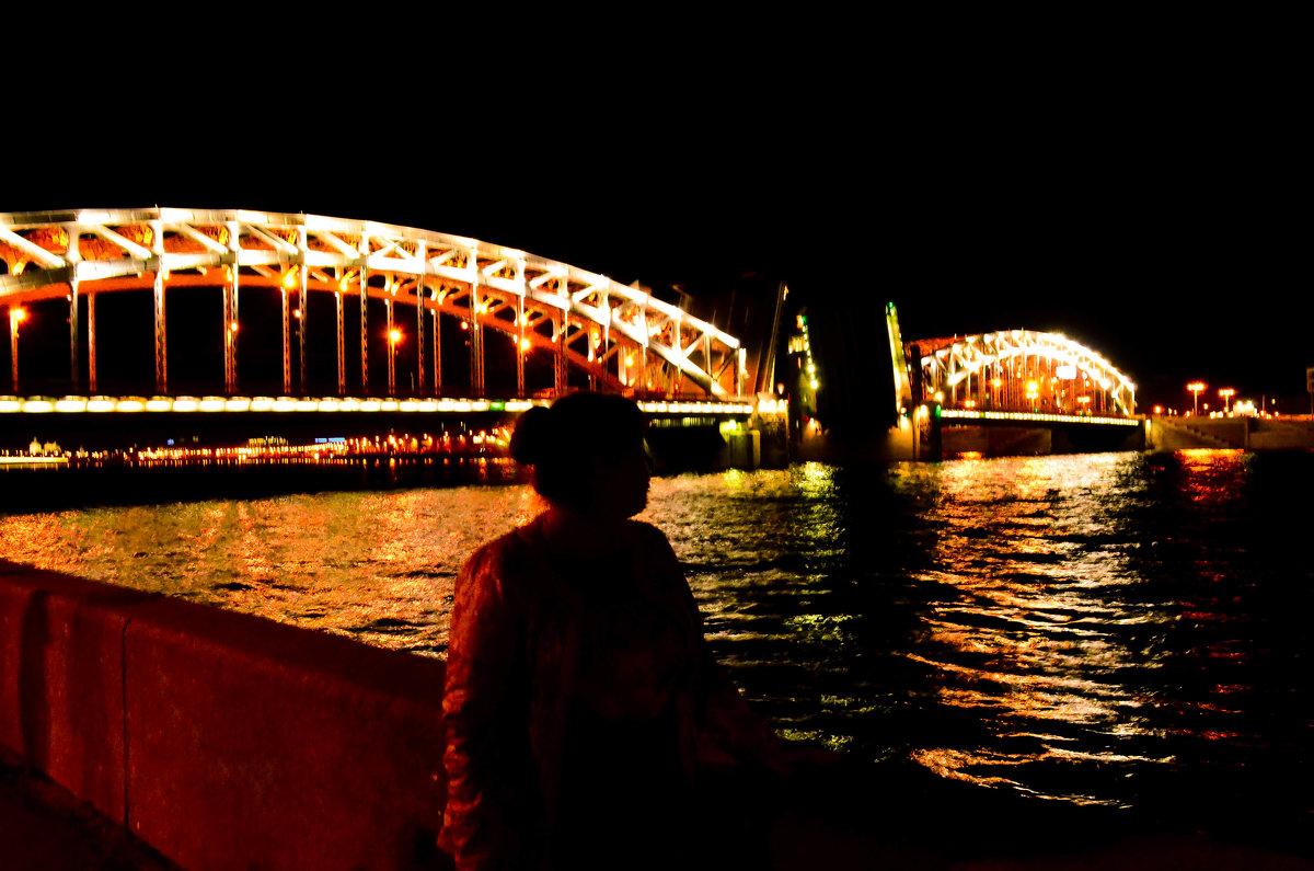 Большеохтинский мост - Елизавета Егорова