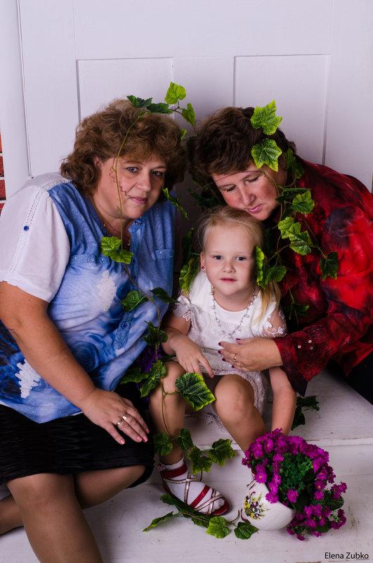 Семейная фотосессия - Елена