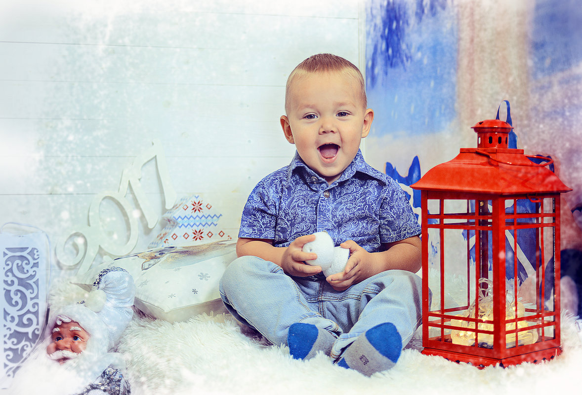 Фотосессия малыша - марина алексеева