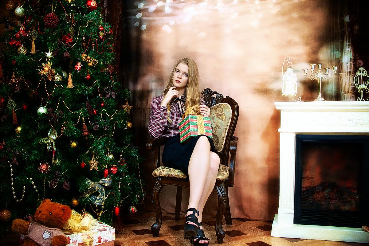 Новогодняя фотосессия в студии Самары - марина алексеева