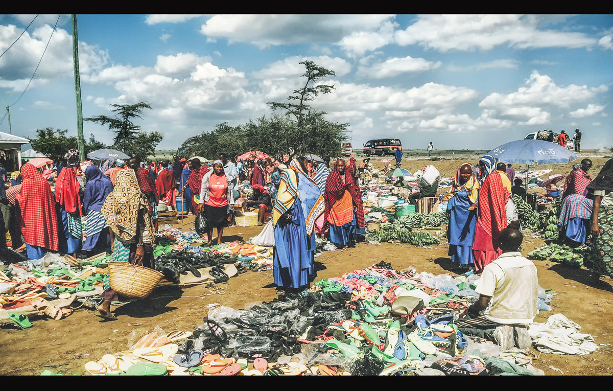 Занесло меня на масайский базар...Танзания! - Александр Вивчарик