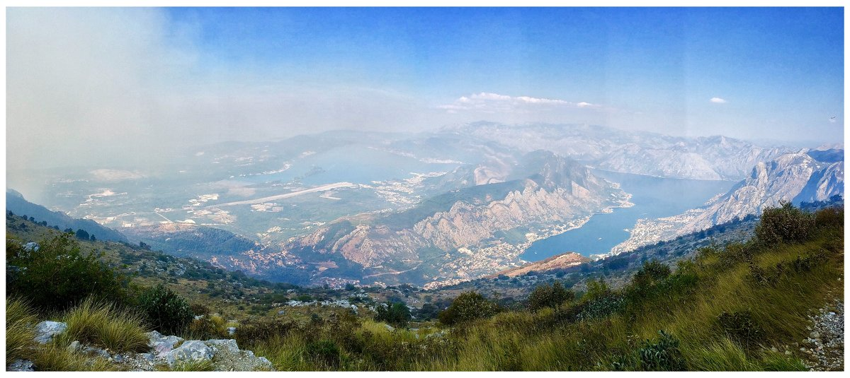 Панорама на Тиват и Котор - Олег