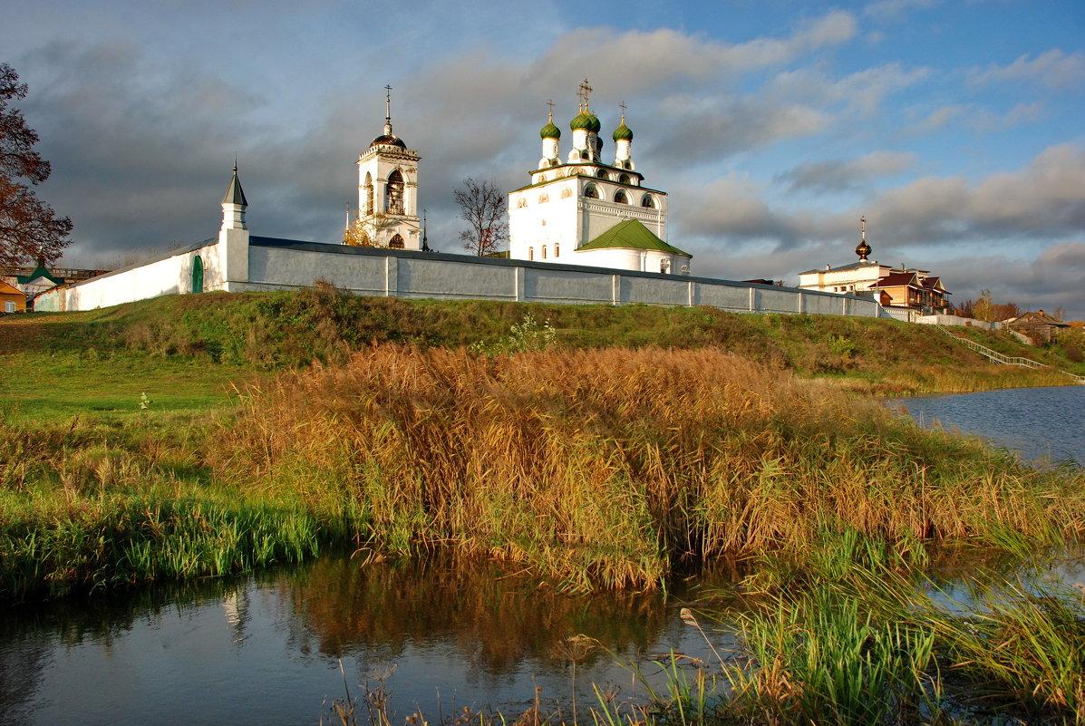 Свято-Богоявлинский мужской монастырь в п.Мстёра - Валерий Толмачев