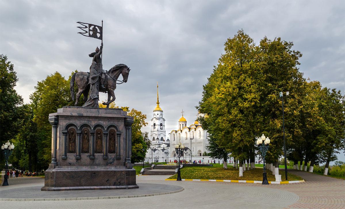 Памятник князю Владимиру Красное Солнышко и святителю Федору - Альберт Беляев