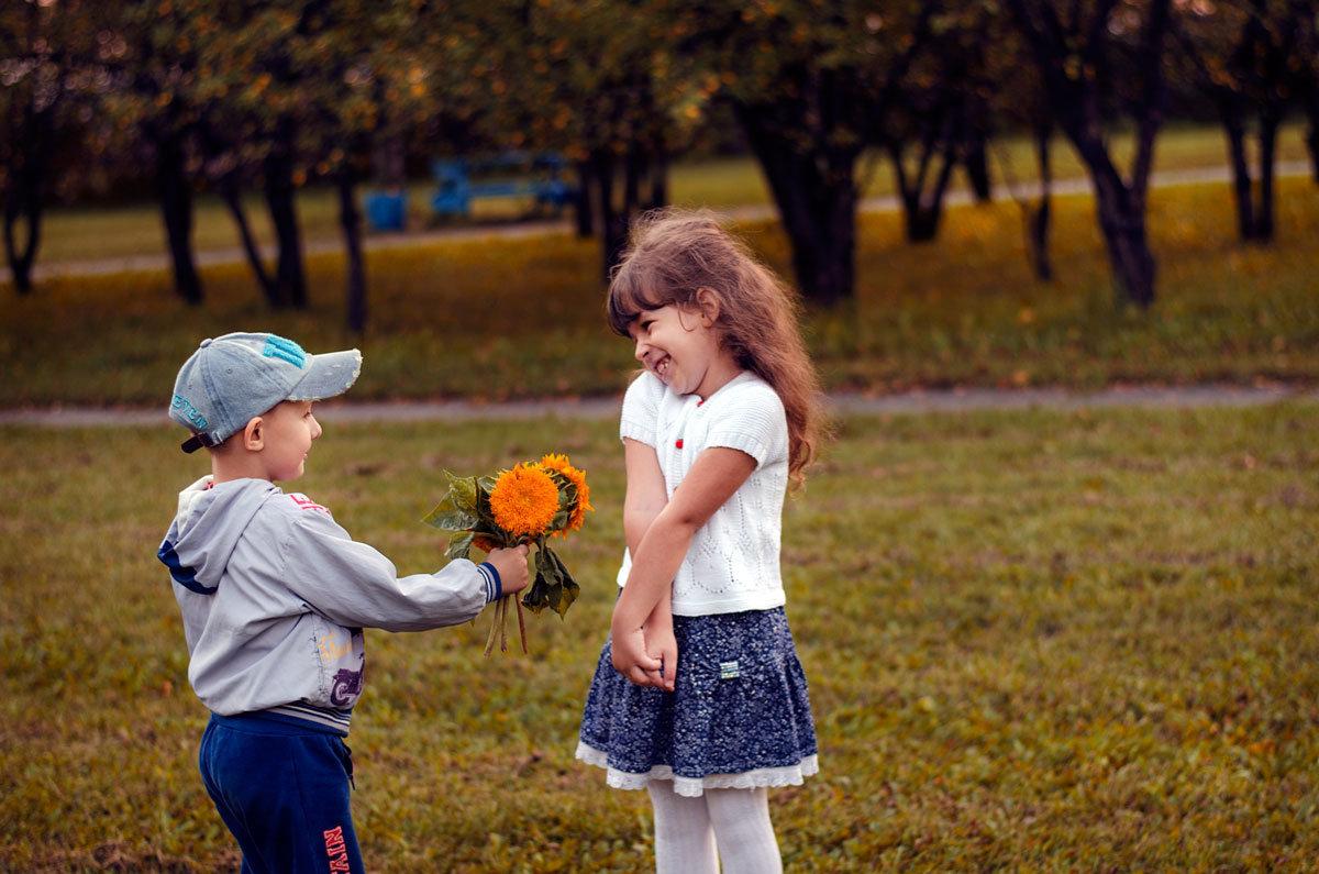 первые цветы - Дарья Науменко