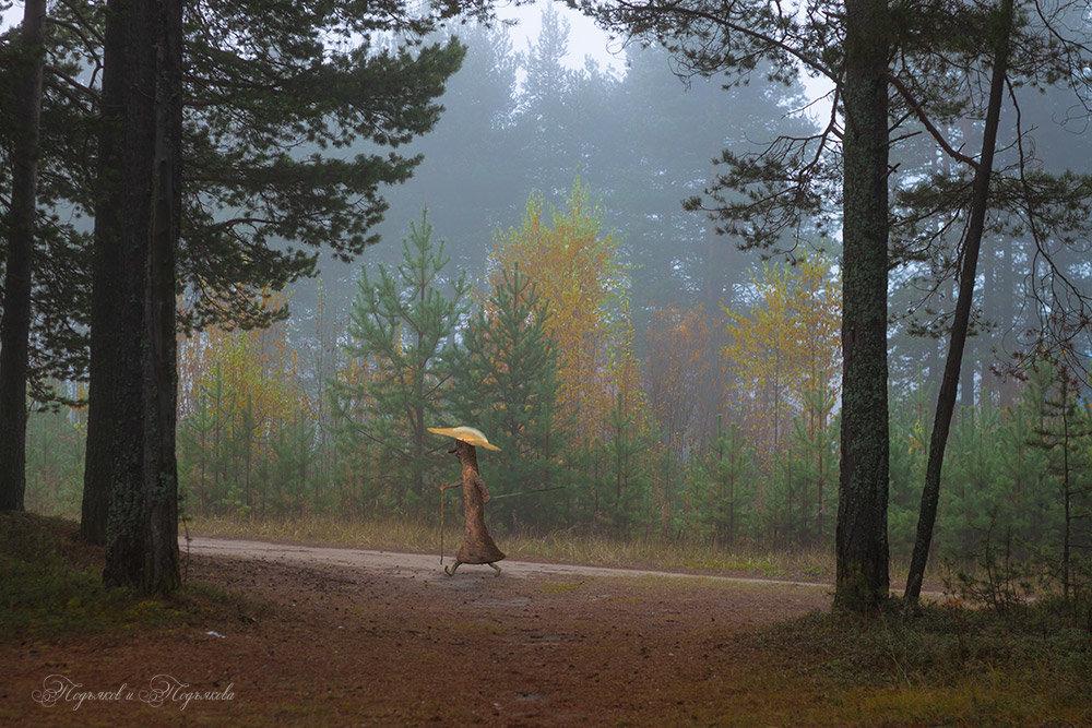 Спортивная ходьба. Нечисть тоже следит за здоровьем.))) - Подъяков Анатолий