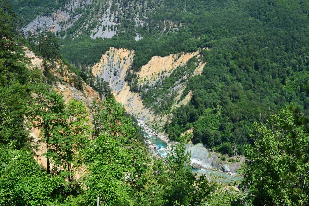 Путешествие по каньону - Ольга