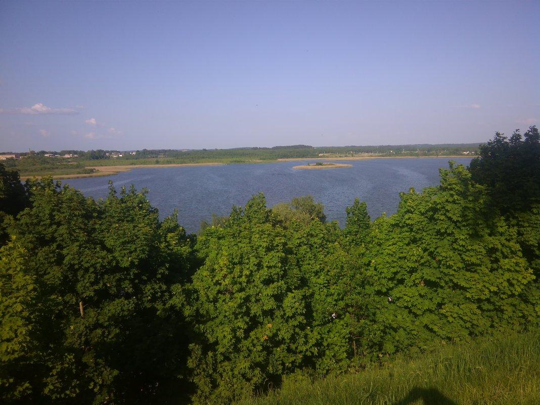Браслав, остров посреди озера. - Дмитрий Гринкевич