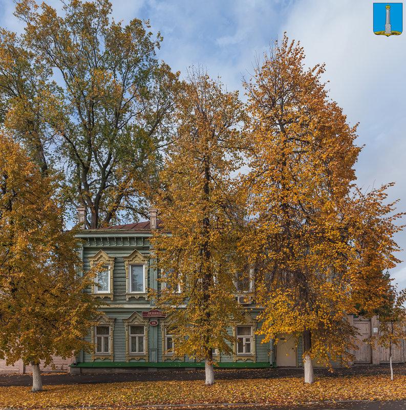 Симбирск (Ульяновск). Дом О. Г. Зерновой. Осень - Алексей Шаповалов Стерх