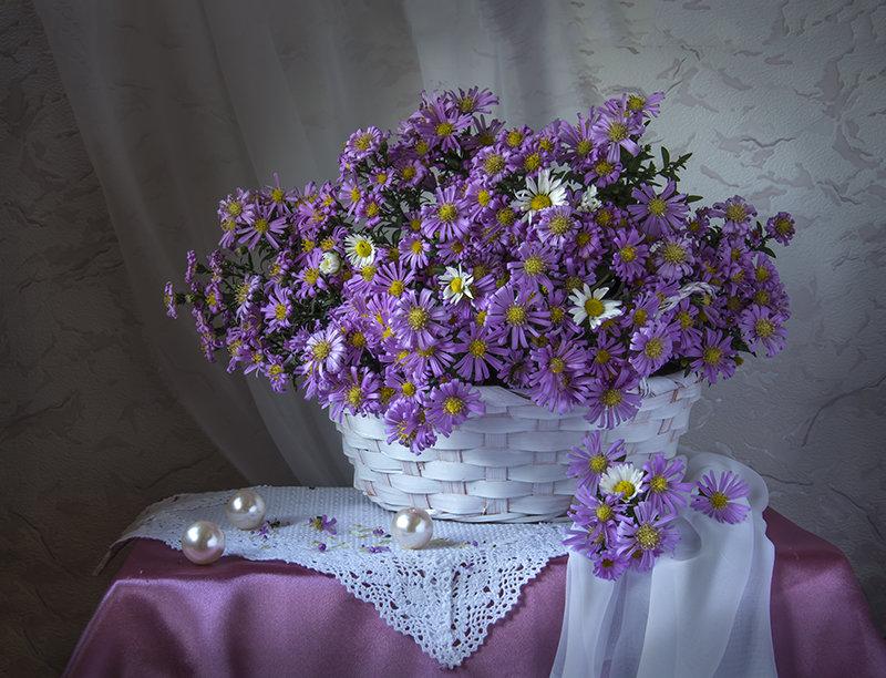 Сентябринки в корзинке. - Людмила Костюченко