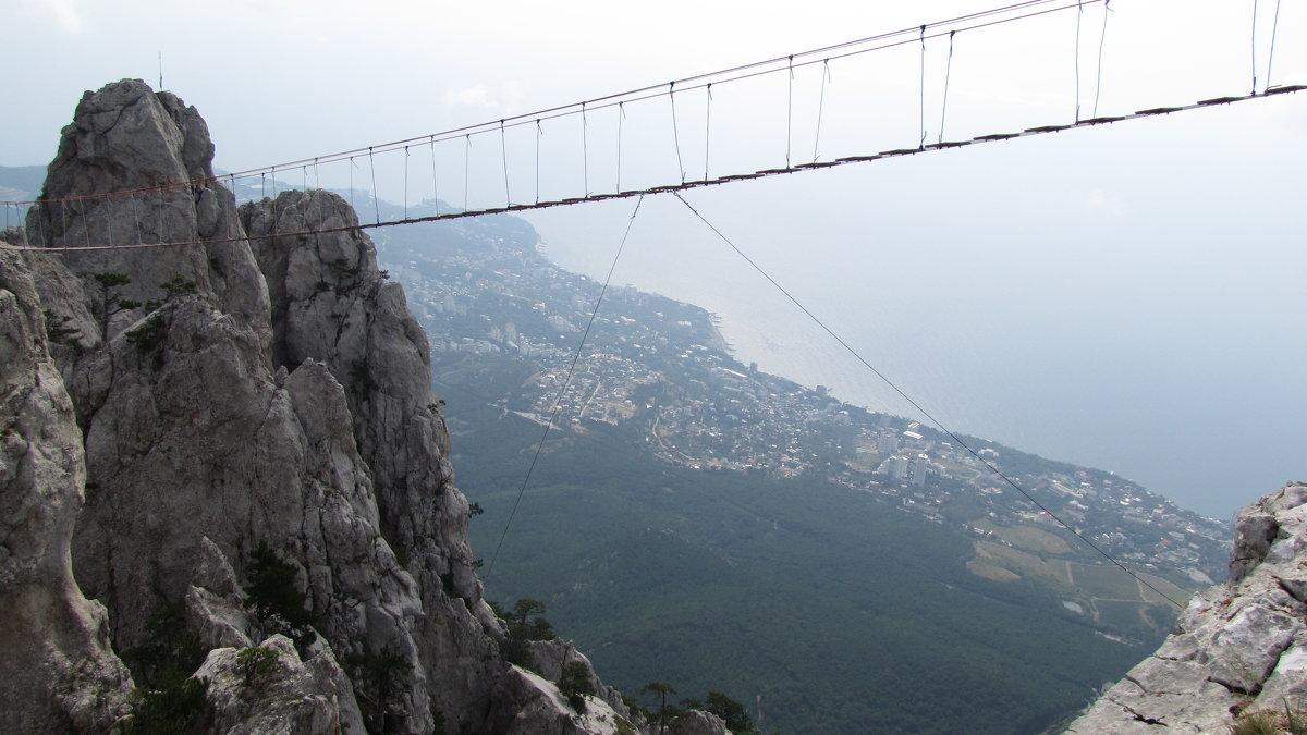 Подвесной мостик на Ай-Петри - Павел Н