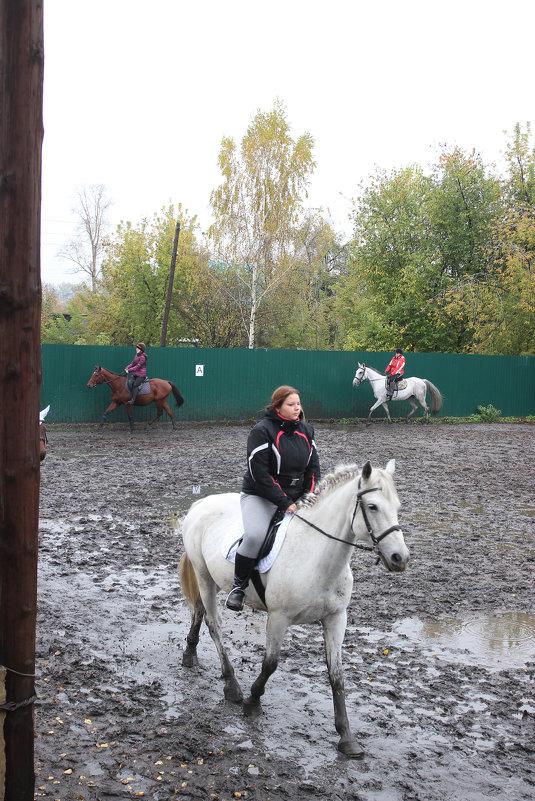 прогулка перед соревнованиями - Евгений Вяткин
