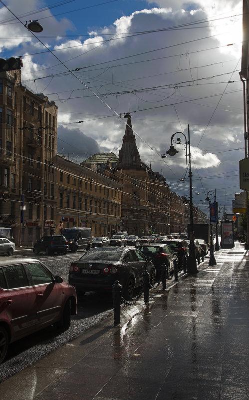 Питер-Литейный-Осень-Дожди... - Владимир Питерский