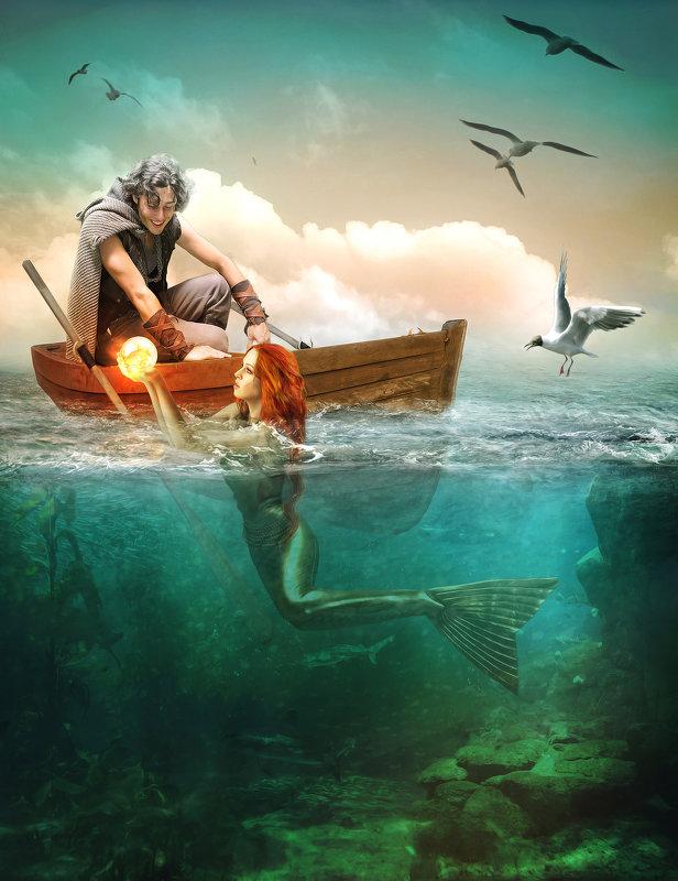 Удачная рыбалка) - Татьяна Тарасенко
