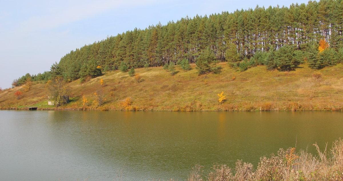 Осень на озере. - Борис Митрохин