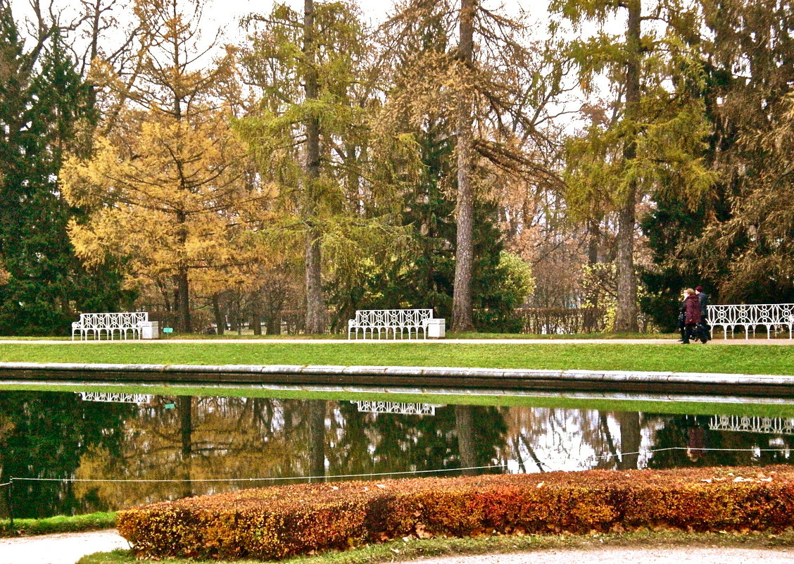 Осень в Царском Селе - Елена