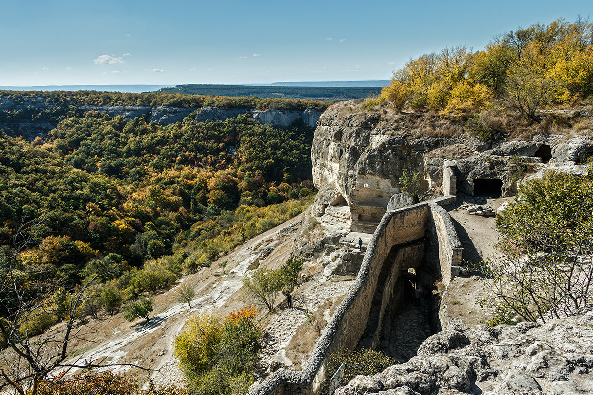 Южные ворота Чуфут-кале - Юрий Яловенко