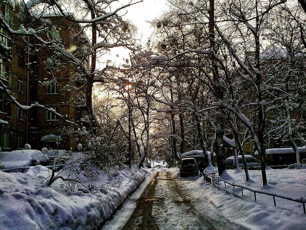 Зиний вечер в городе - Владимир Бровко