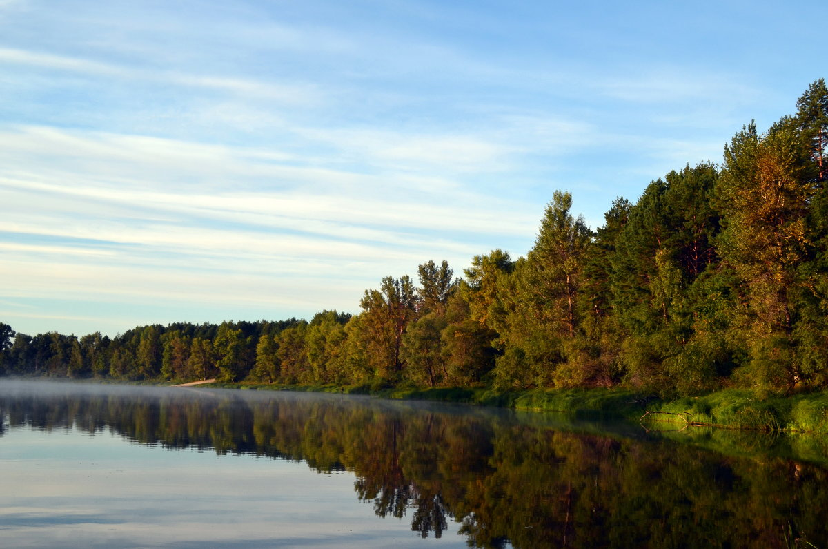 Утро на заливе Десны - Ростислав