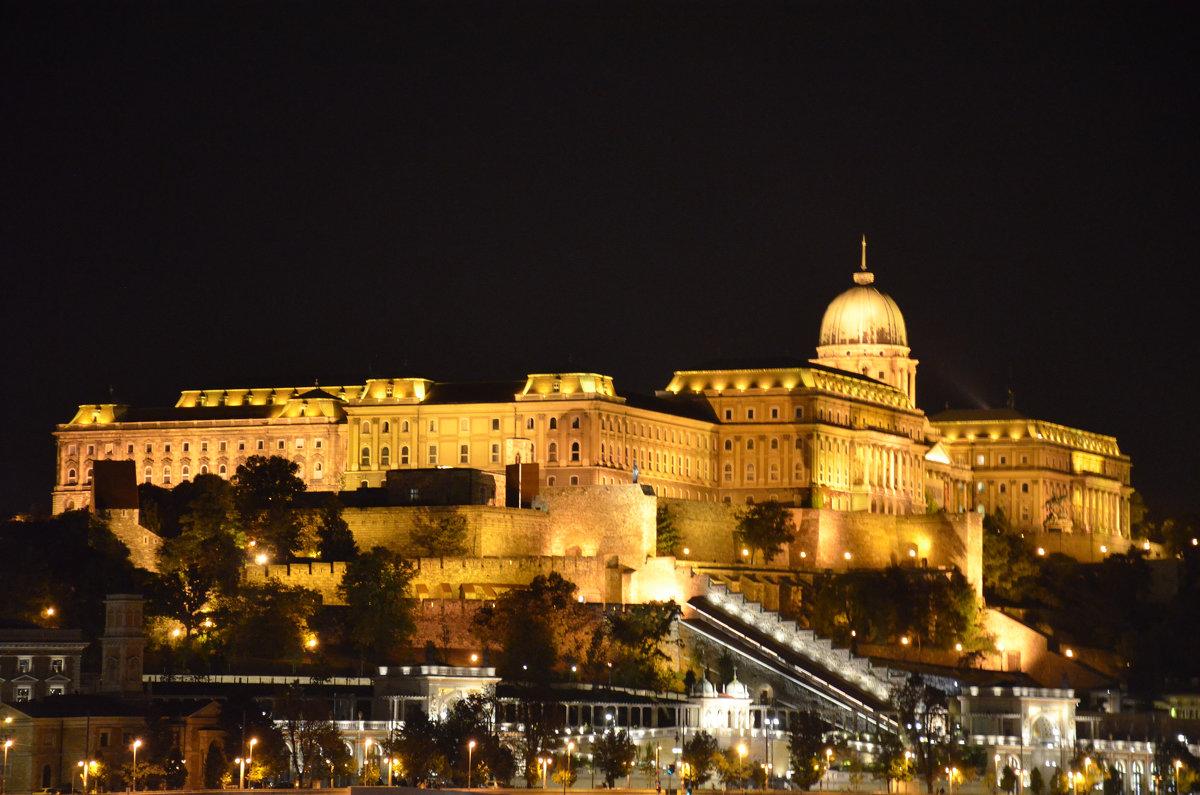 Королевский дворец вечером .Будапешт.Венгрия - Anton Сараев