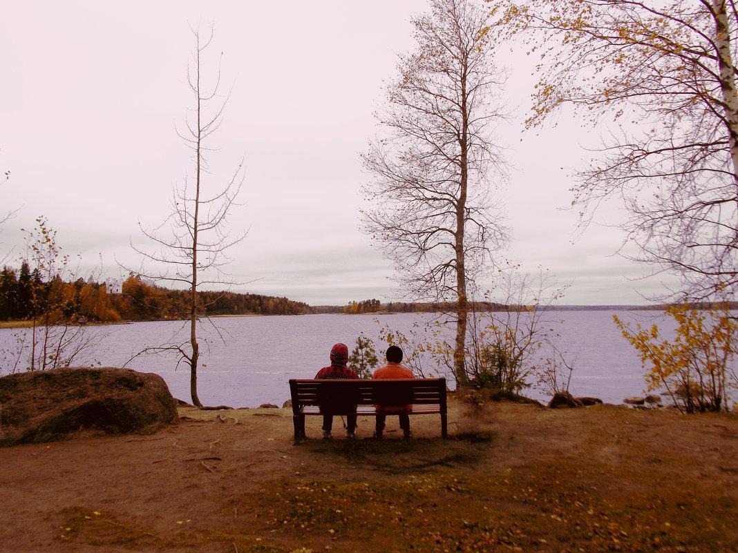 Осень в Монрепо - Александра Кускова