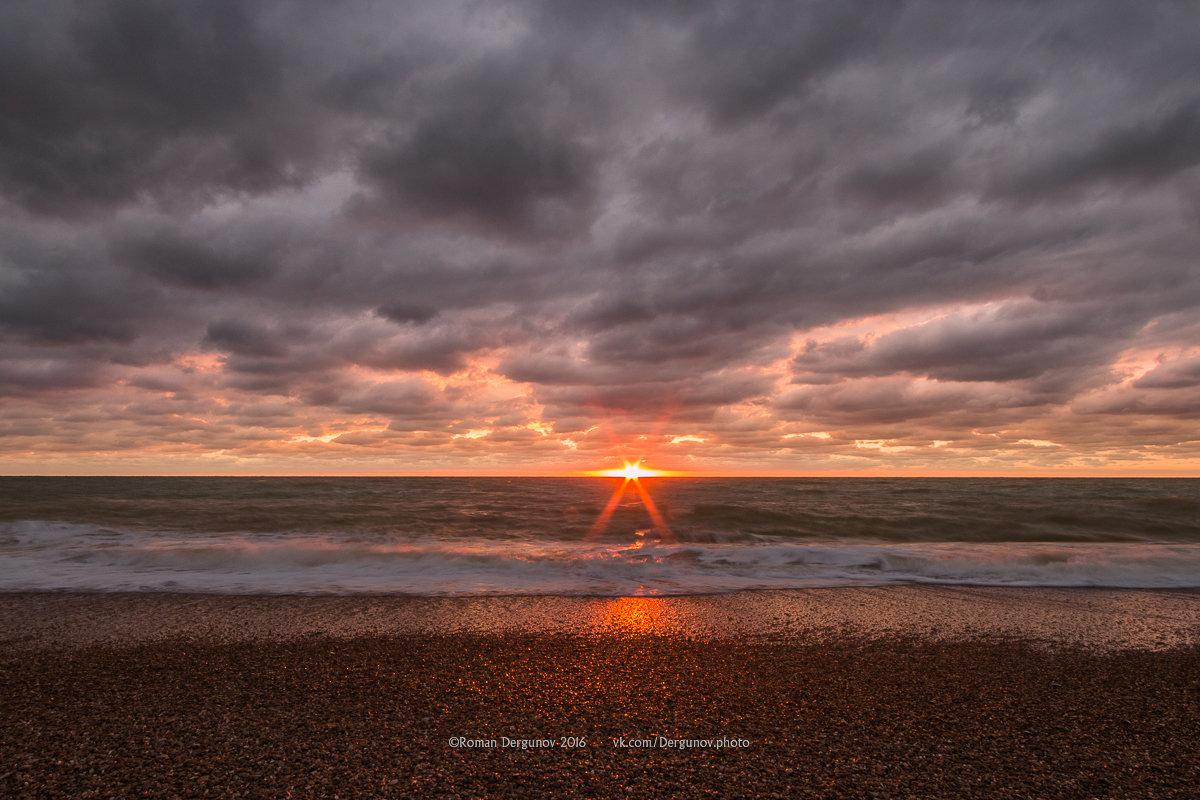 Закат на Черном море - Roman Dergunov
