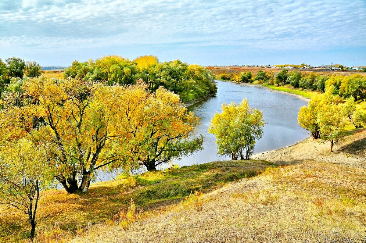 Осень на реке - Владимир Зыбин