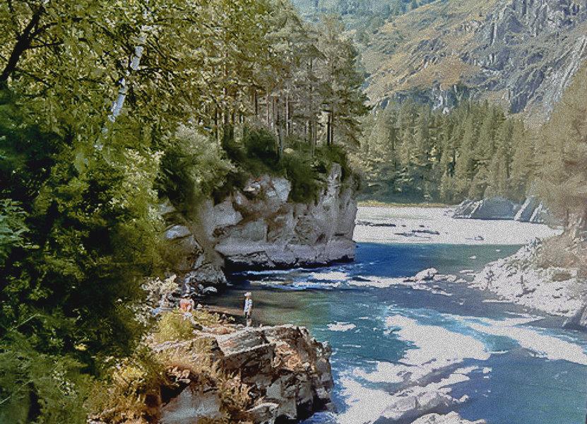 Слияние двух рек - Лариса Димитрова