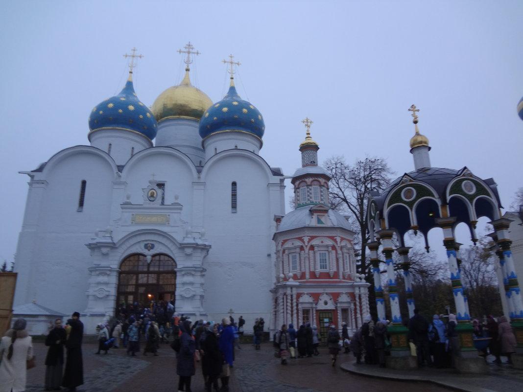 СЕРГИЕВ ПОСАД... ТРОИЦЕ-СЕРГИЕВА ЛАВРА - Ирина Богословская