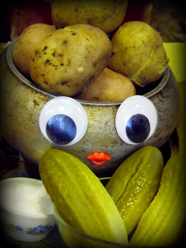 Картошка в мундире.:-))) - nadyasilyuk Вознюк