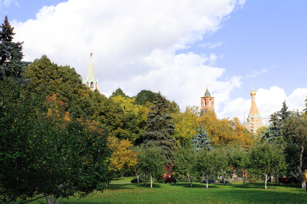 Москва Кремль - раиса Орловская