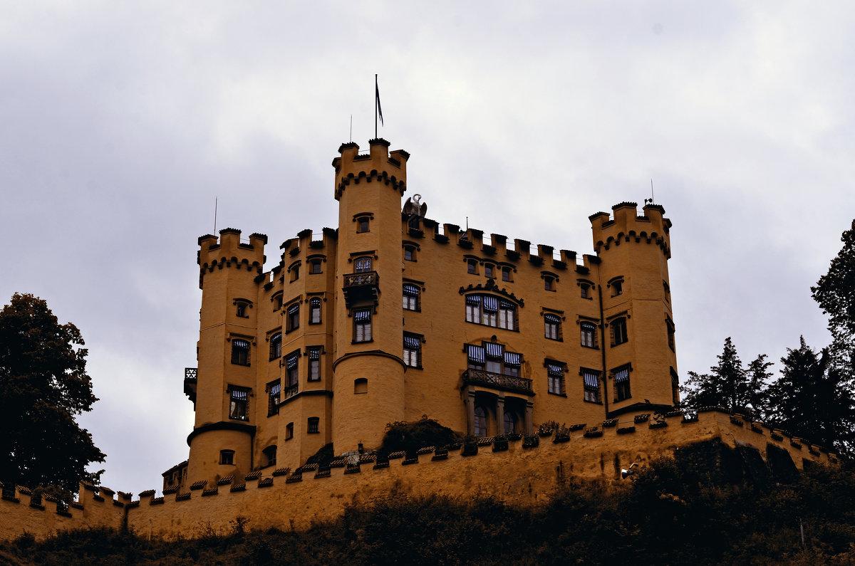 Домик в Германии,Замок Хоэншвангау. - Валентина Потулова