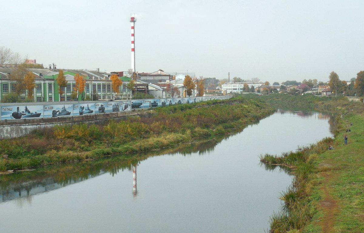 Вид с моста - Мила