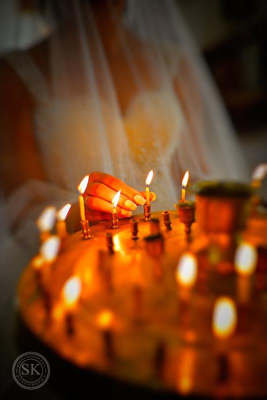 свадебные свечи - shota