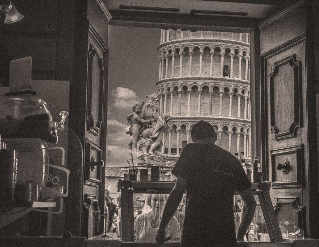 Окно в Пизу... - Георгий Вапштейн