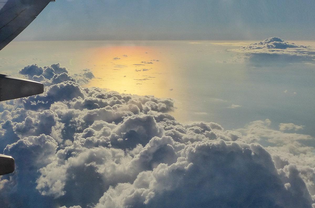 Под крылом самолета - Galina