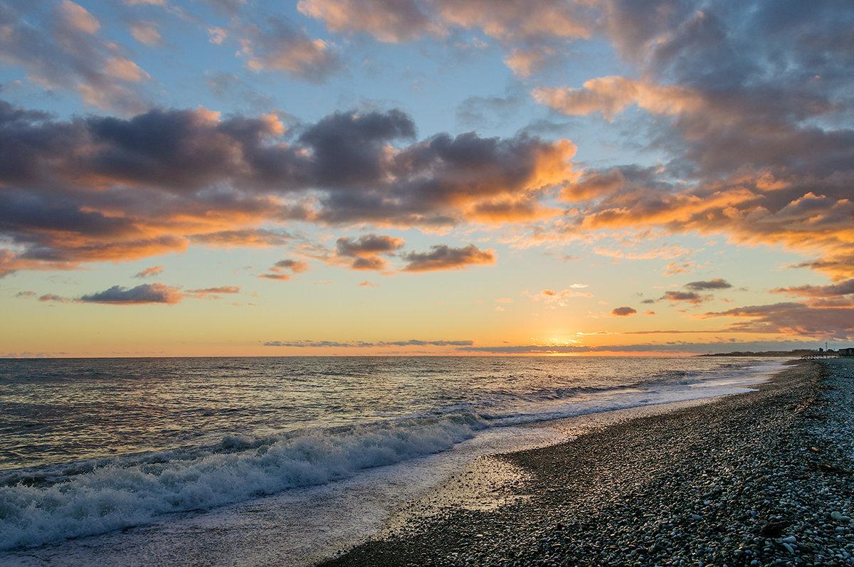 Солнце за море ушло - Galina